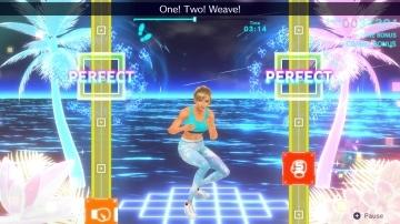 צילום מסך 2 מתוך המשחק: Fitness Boxing 2: Rhythm & Exercise