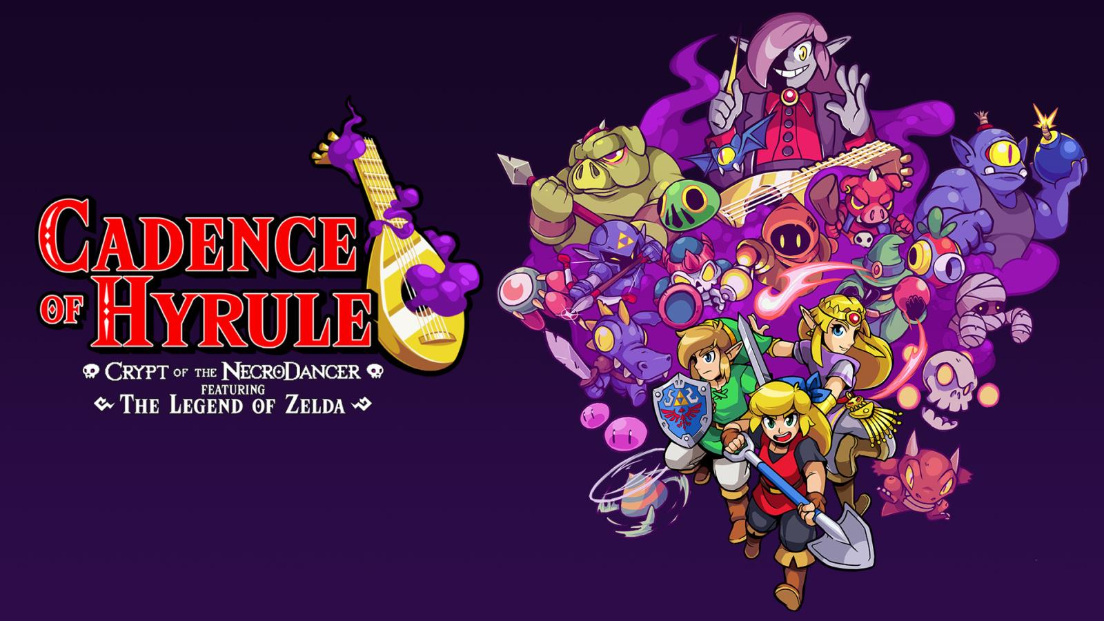 Cadence of Hyrule - Crypt of the NecroDancer Featuring Zelda
