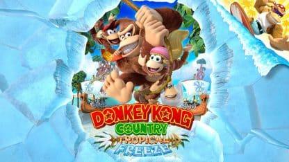 Donkey Kong - Tropical Freeze באנר