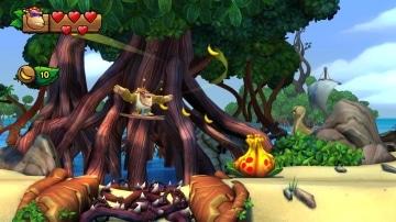 צילום מסך 2 מתוך המשחק: Donkey Kong - Tropical Freeze