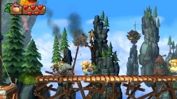 צילום מסך 3 מתוך המשחק: Donkey Kong - Tropical Freeze