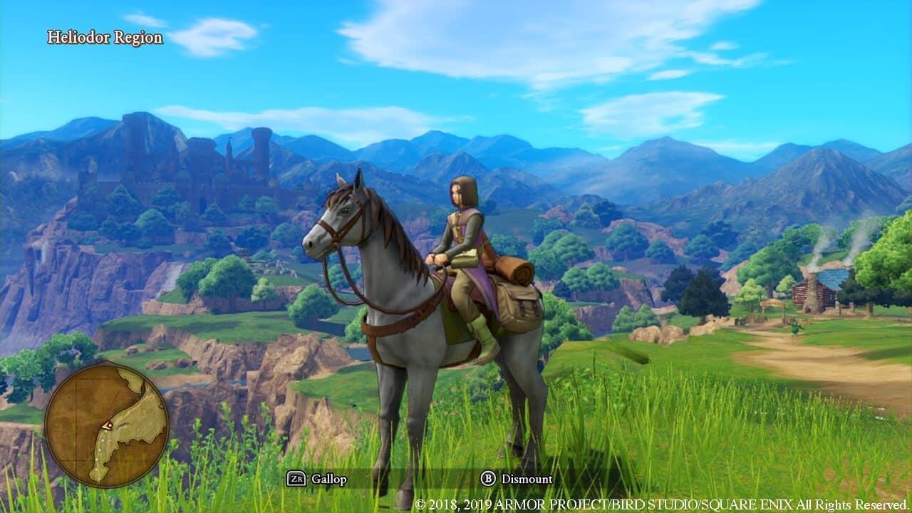 צילום מסך 2 מתוך המשחקק: Dragon Quest XI S: Echoes of an Elusive Age - Definitive Edition