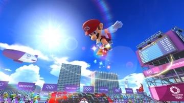 משחק Mario and Sonic at the Olympic Games Tokyo 2020 לנינטנדו סוויץ' - מריו באוויר