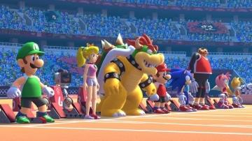 משחק Mario and Sonic at the Olympic Games Tokyo 2020 לנינטנדו סוויץ' - דמויות לקראת תחרות ריצה