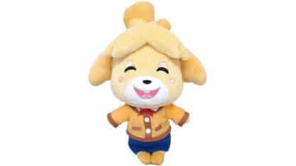 בובה פרוותית רכה של הדמות איזבל ממשחקי אנימל קרוסינג.