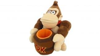 בובה רכה - Donkey Kong - חבית