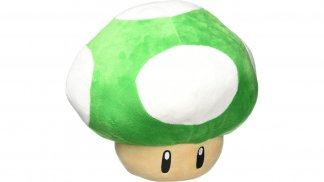 כרית - 1UP Mushroom ירוקה