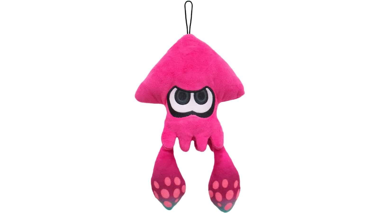 בובה רכה - Squid - ורוד