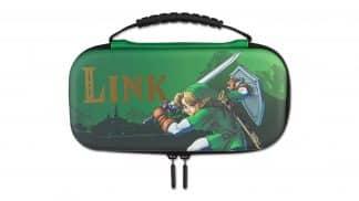 ערכת הגנה ונשיאה סוויץ' לייט - The Legend of Zelda - ירוק