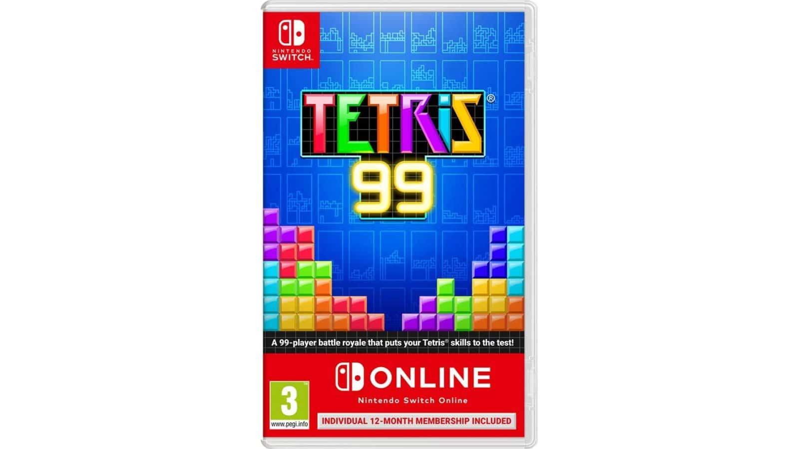 TETRIS 99 + מנוי Nintendo Switch Online (365 ימים)