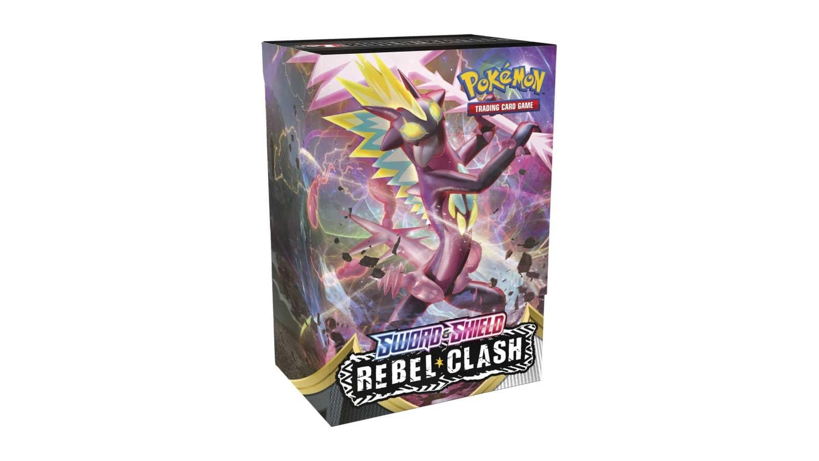 מארז קלפים Pokemon Sword & Shield Rebel Clash Build & Battle