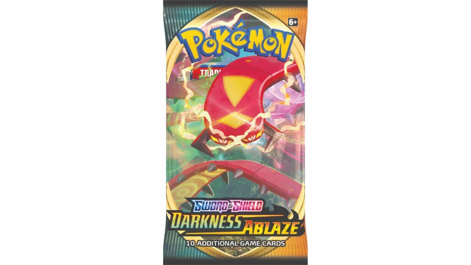 חבילת בוסטר - Pokémon Sword & Shield: Darkness Ablaze