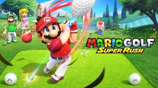 Super Mario Gold - Super Rush
