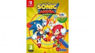 משחק Sonic Mania Plus לנינטנדו סוויץ'