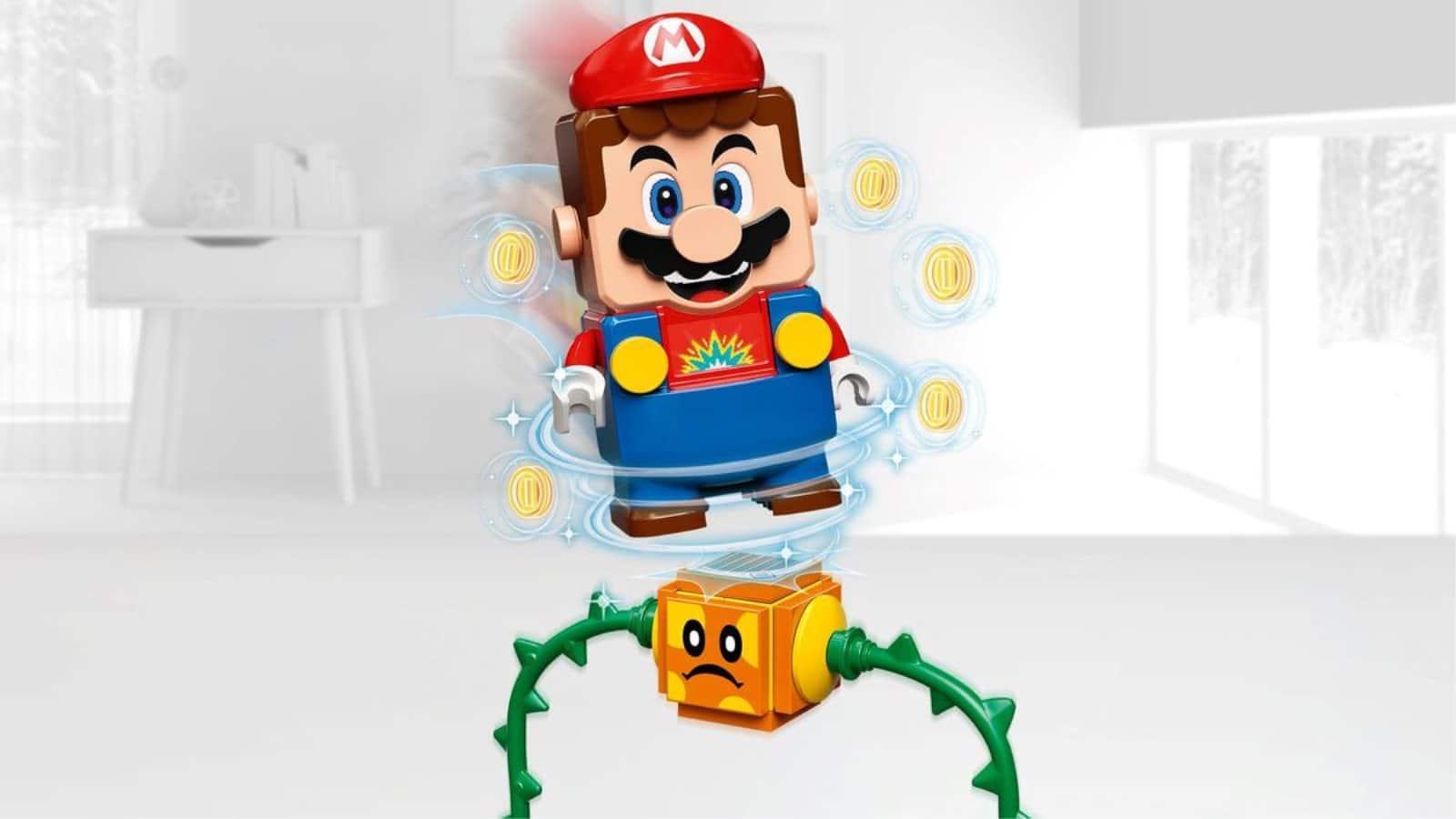 Lego 71381 Chain Chomp Jungle Encounter - לגו מריו על פוקי