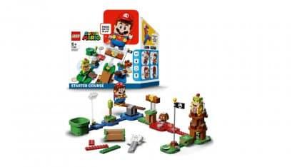 LEGO 71360 Adventures with Mario Starter Course - אריזה ודגם