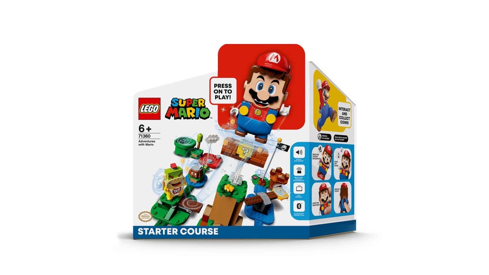LEGO 71360 Adventures with Mario Starter Course - אריזה