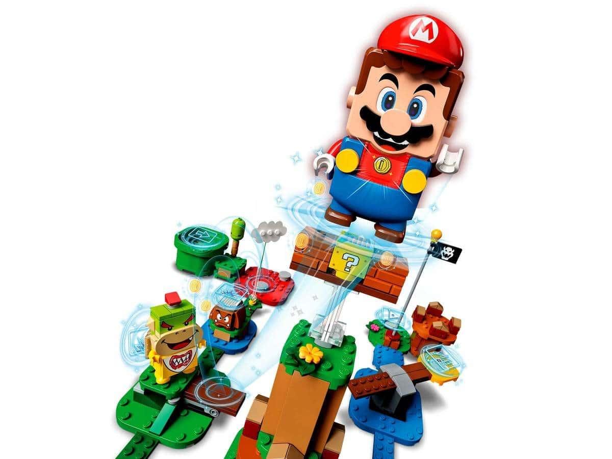 LEGO 71360 Adventures with Mario Starter Course - מריו באוויר