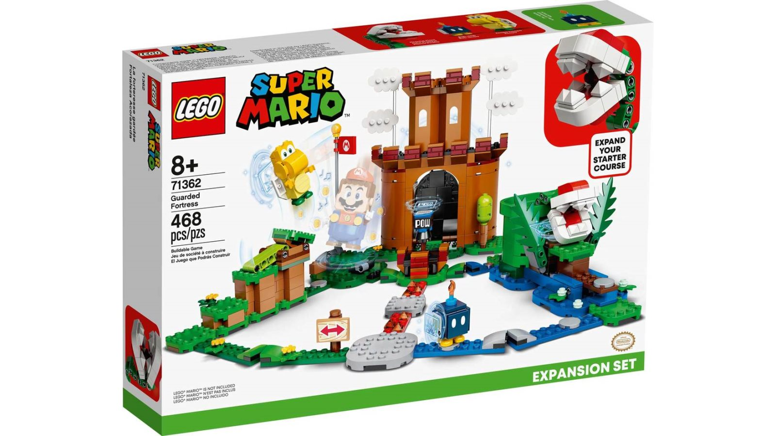 LEGO 71362 Guarded Fortress Expansion Set - אריזה