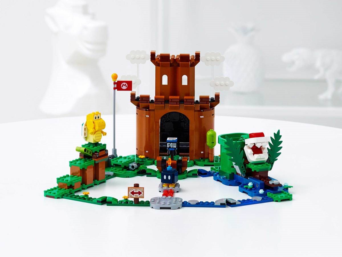 LEGO 71362 Guarded Fortress Expansion Set - דגם 2