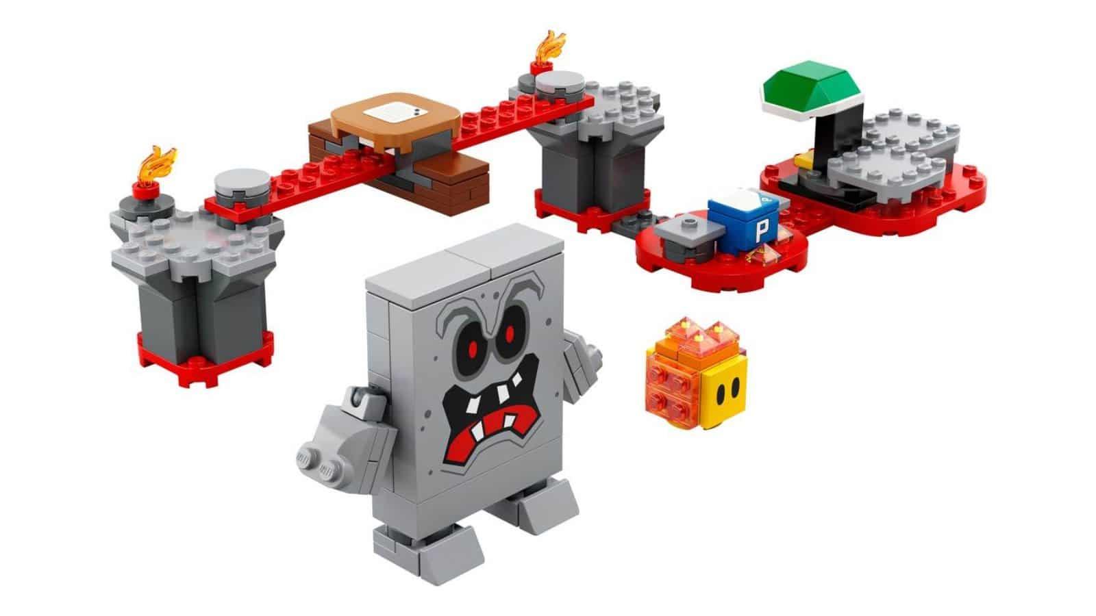 LEGO 71364 Whomp's Lava Trouble Expansion Set - דגם