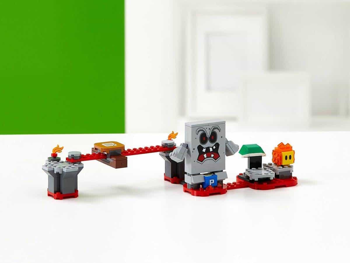 LEGO 71364 Whomp's Lava Trouble Expansion Set - דגם 2