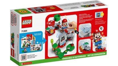 LEGO 71364 Whomp's Lava Trouble Expansion Set - אריזה אחורית