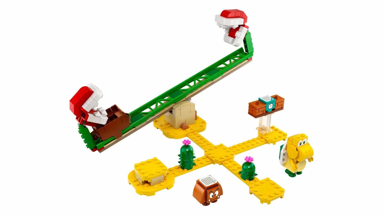 LEGO 71365 Piranha Plant Power Slide Expansion Set - דגם