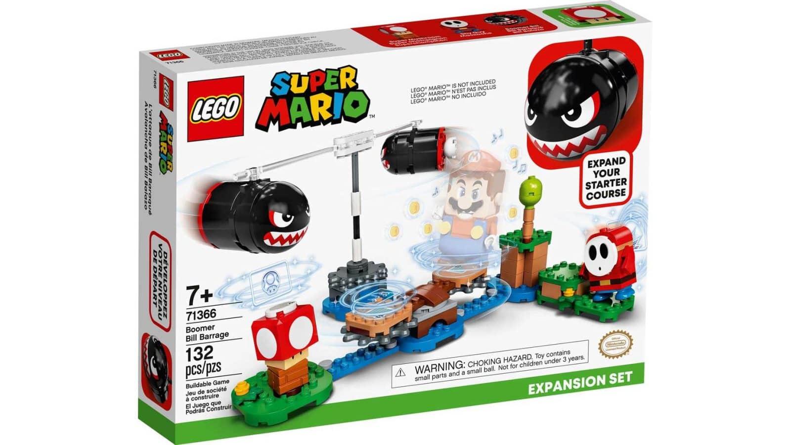 LEGO 71366 Boomer Bill Barrage Expansion Set - אריזה