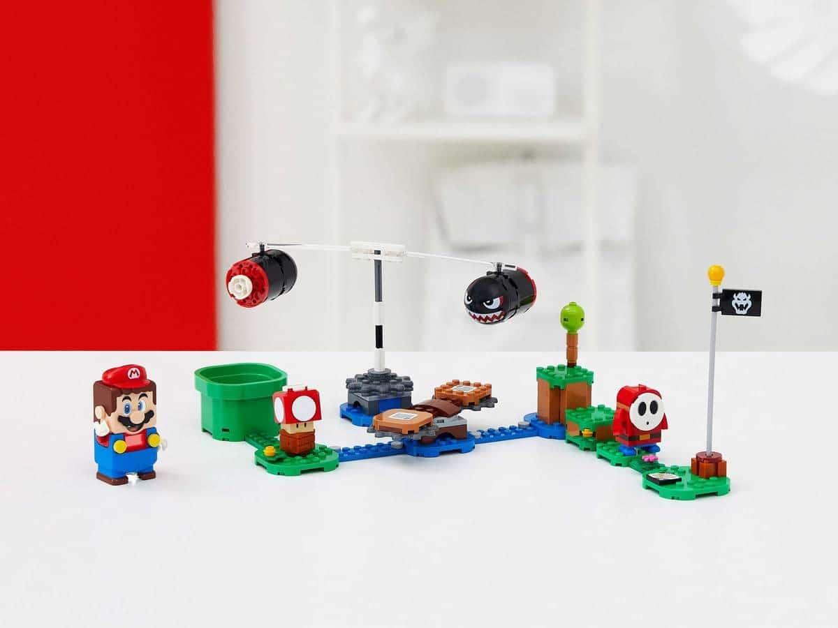 LEGO 71366 Boomer Bill Barrage Expansion Set - דגם ומריו
