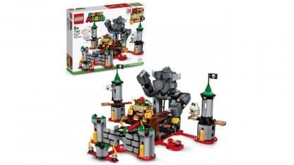 LEGO 71369 Bowser's Castle Boss Battle Expansion Set - אריזה ודגם