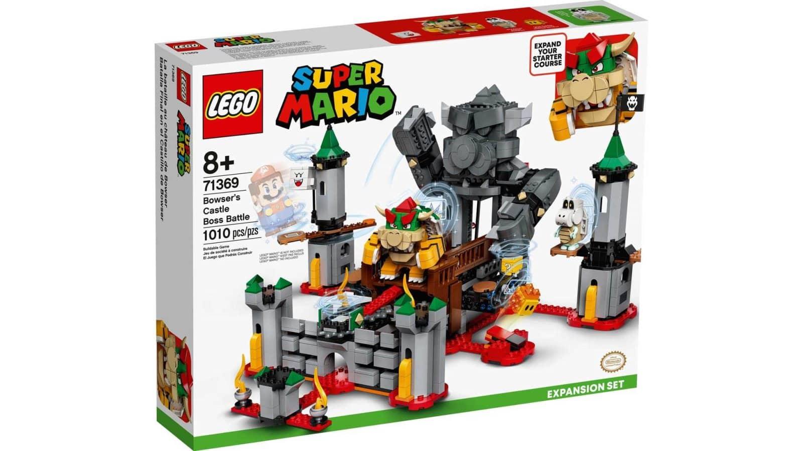 LEGO 71369 Bowser's Castle Boss Battle Expansion Set - אריזה