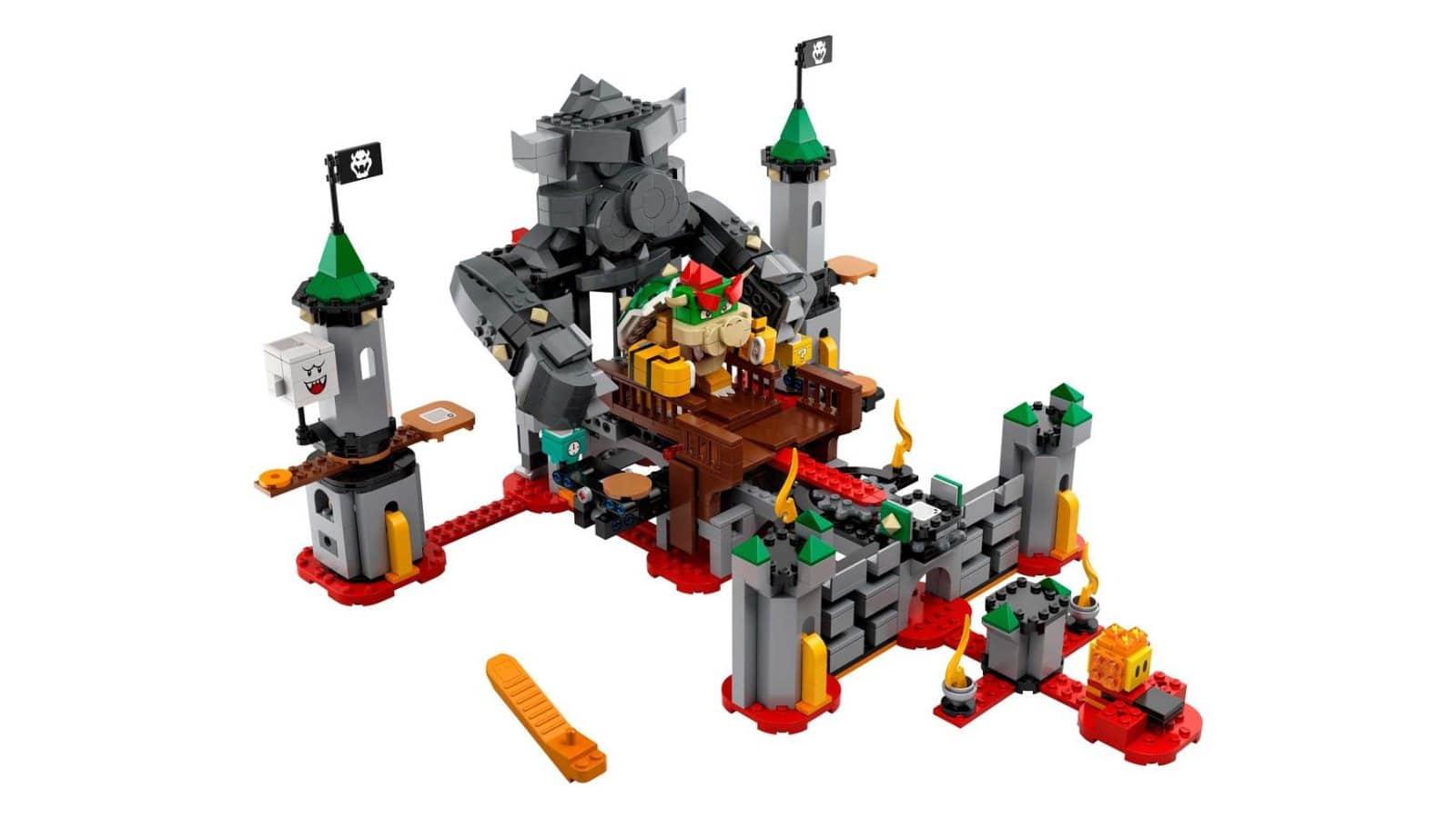 LEGO 71369 Bowser's Castle Boss Battle Expansion Set - דגם