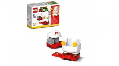 LEGO 71370 Fire Mario Power-Up Pack - אריזה וחלקים