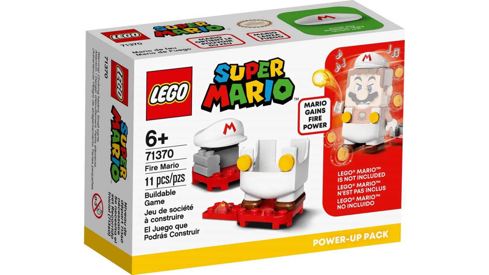 LEGO 71370 Fire Mario Power-Up Pack - אריזה