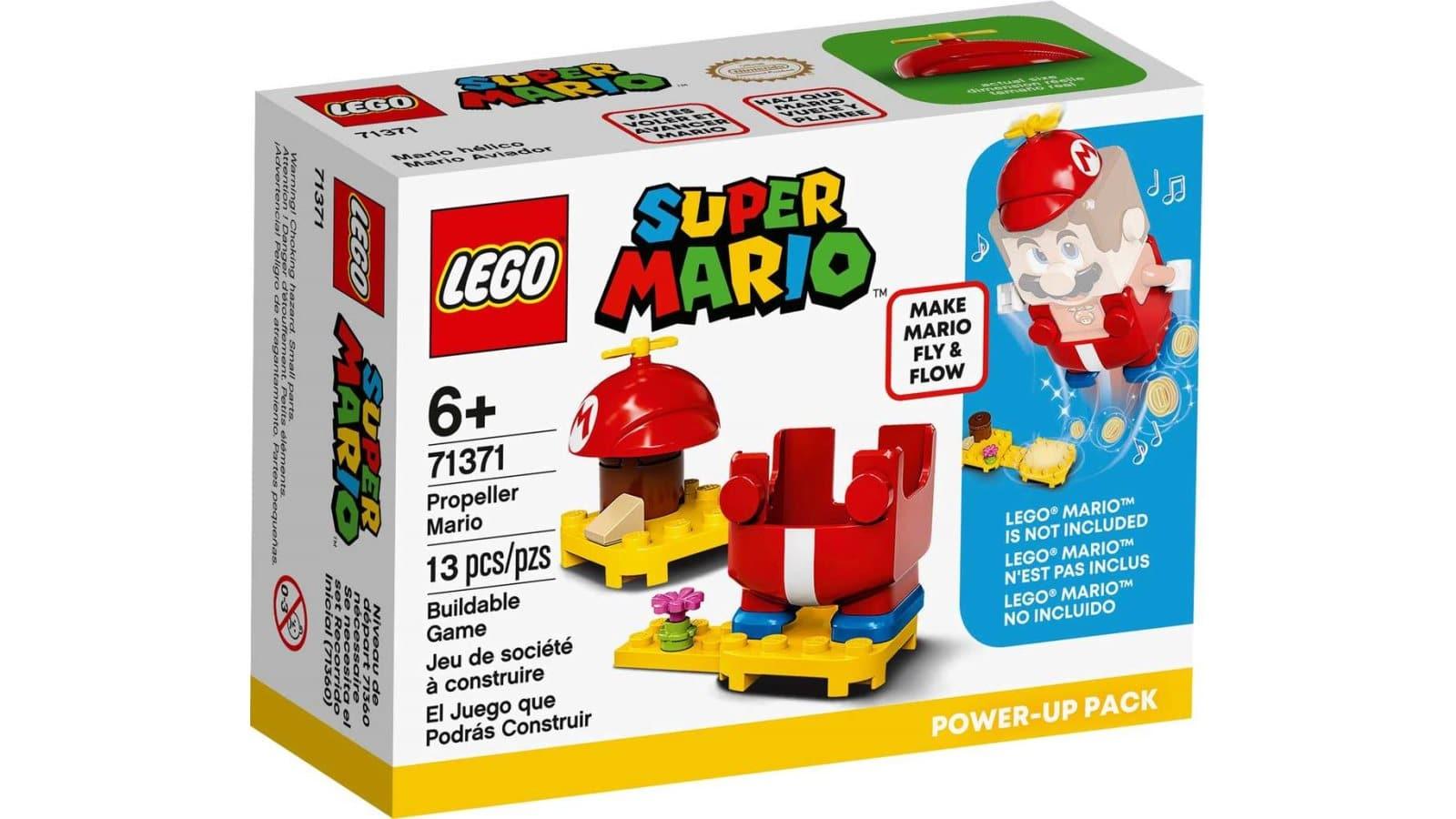 LEGO 71371 Propeller Mario Power-Up Pack - אריזה