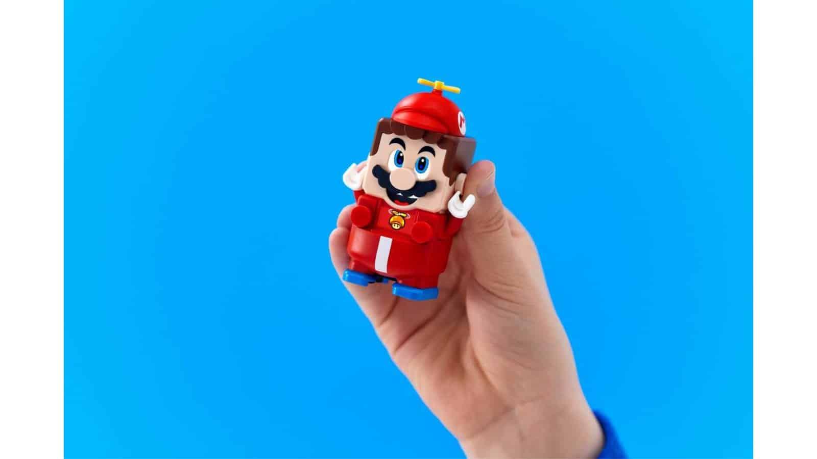 LEGO 71371 Propeller Mario Power-Up Pack - יד מחזיקה מריו