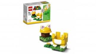 LEGO 71372 Cat Mario Power-Up Pack - אריזה וחלקים