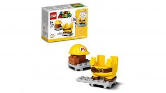 LEGO 71373 Builder Mario Power-Up Pack - אריזה וחלקים