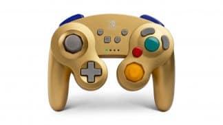 בקר GameCube אלחוטי - זהב