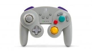 בקר GameCube אלחוטי - אפור