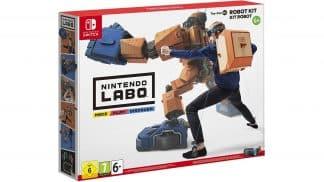 ערכת רובוט Nintendo LABO - אריזה
