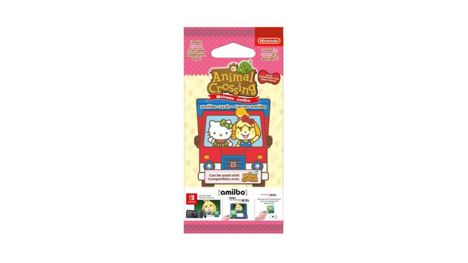 מארז קלפי Animal Crossing Sanrio Collaboration Pack
