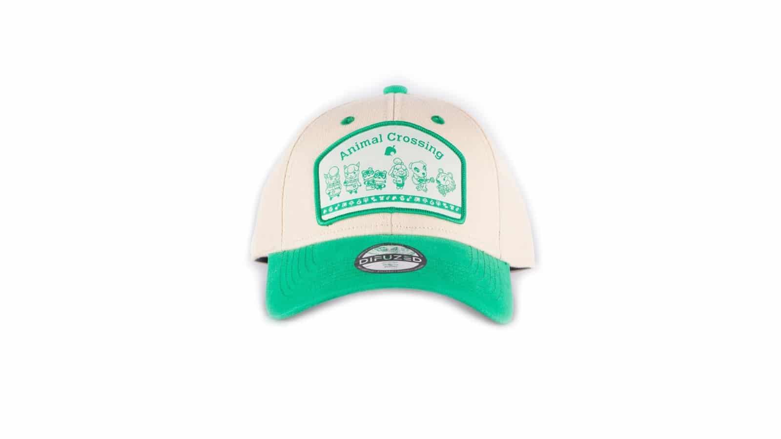 כובע - Animal Crossing - ירוק לבן