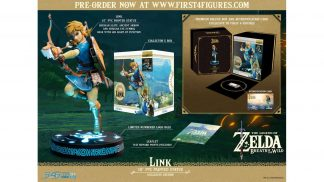 פסל אספנות של לינק מ-The Legend of Zelda: Breath of the Wild - תכולה