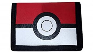ארנק שחור בעיצוב פוכדור מסדרת פוקימון - זווית קדמית