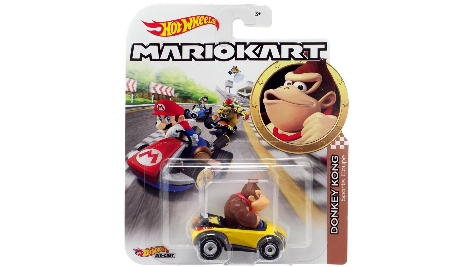 מכונית Hot Wheels - Mario Kart Donkey Kong