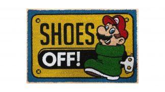 שטיח כניסה עם מריו בתוך נעל