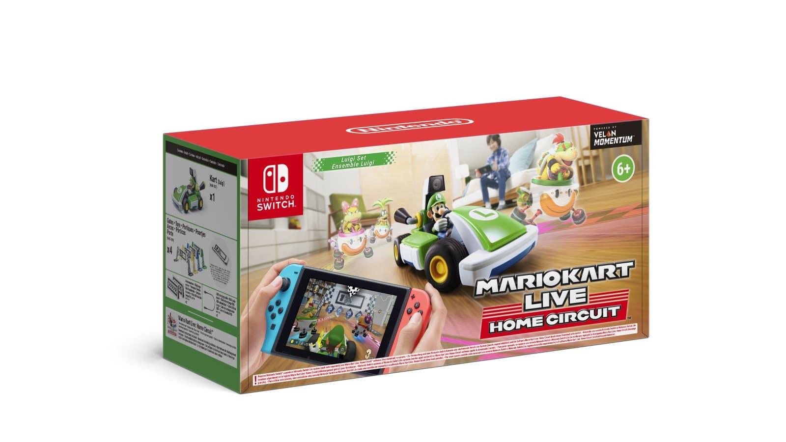 Mario Kart Live: Home Circuit –  Luigi Set Pack