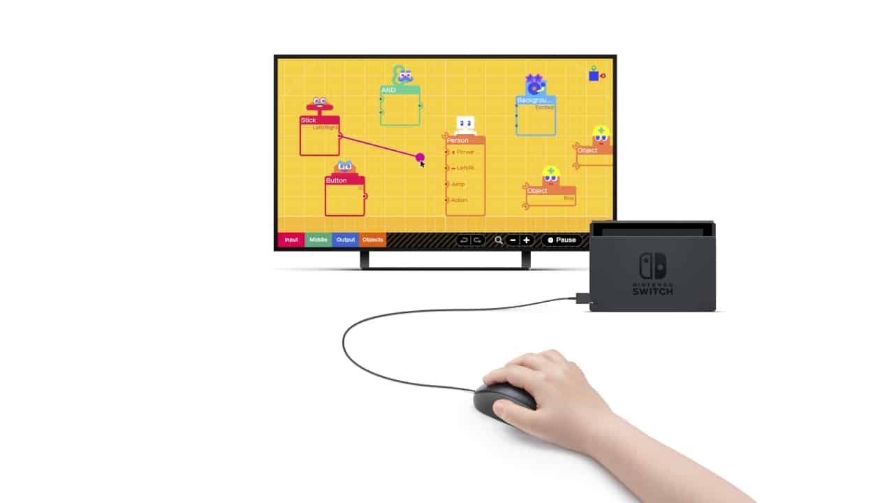 משחק Game Builder Garage לנינטנדו סוויץ' - עכבר